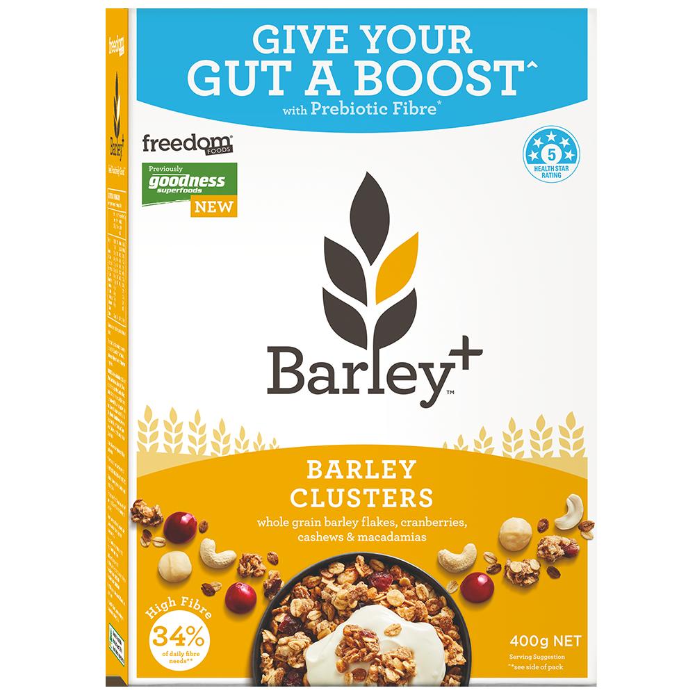 Healthy Breakfast Cereal Cranberry & Nuts Barley+