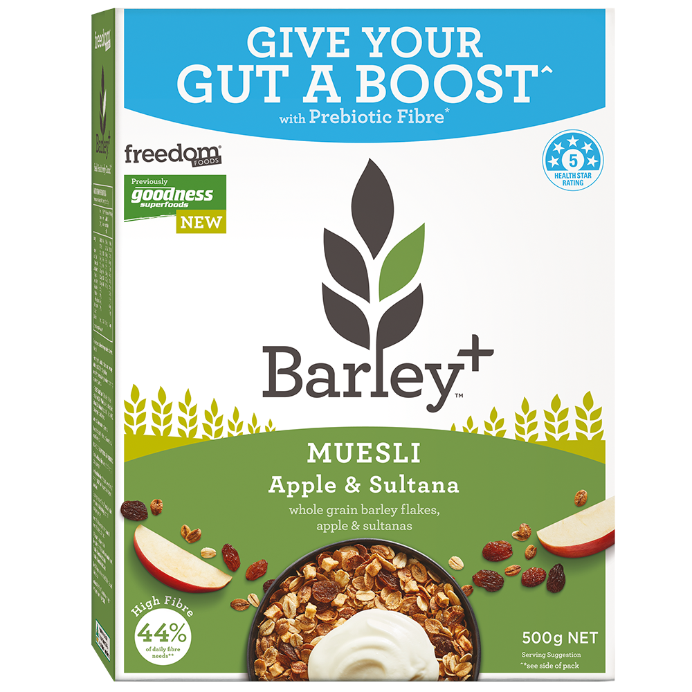 Healthy Breakfast Cereal Muesli Barley+