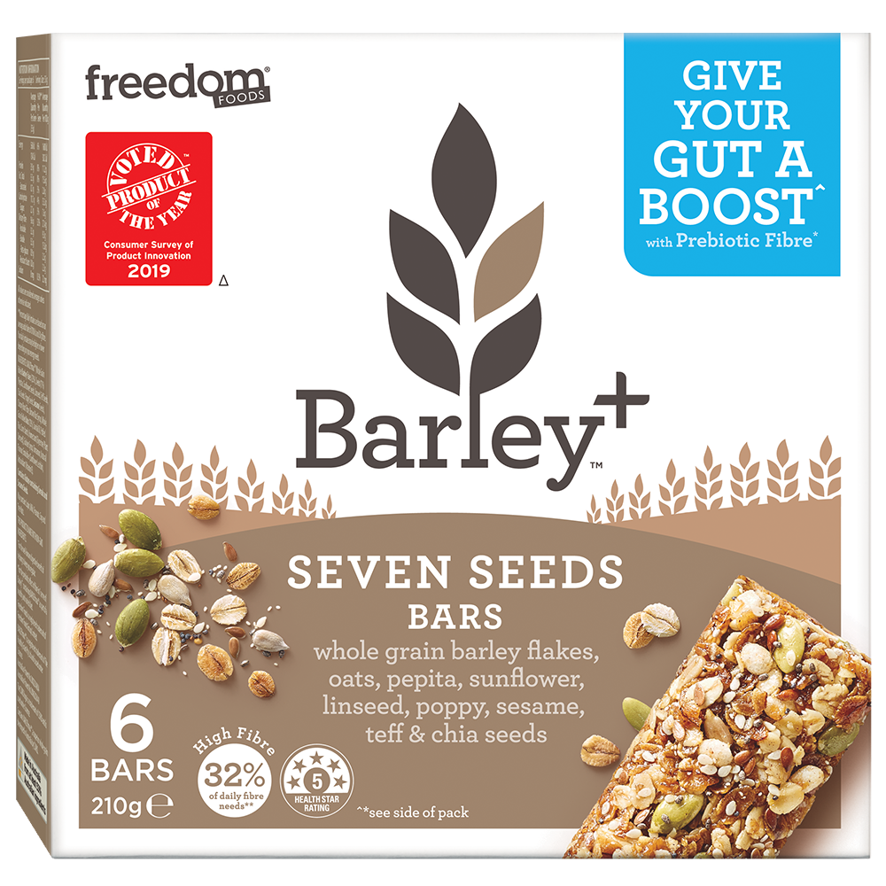 Barley Plus Seven Seeds Bars